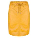 Esqualo Skirt PU elastic Oker geel F19.04503