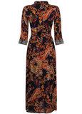 Tramontana Dress Long Paisley Print