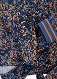 Dayz Bilou - Blouse in jeans blauw print_