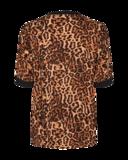 Freequent luipaard print top Vuli-bl _