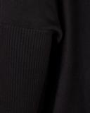 Freequent Sally-pu-button top/jurk Zwart_