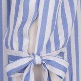 Esqualo Blouse knot stripe HS19.36215