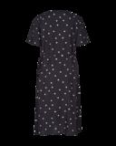 Freequent Adney-dr-dots zwarte stippen jurk