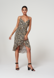 Aaiko Annika Vis 574 print jurk