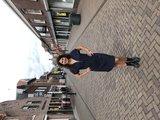 One Two Luxzuz Cassanda Dress Blauw