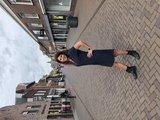 One Two Luxzuz Cassandra Dress Blauw_