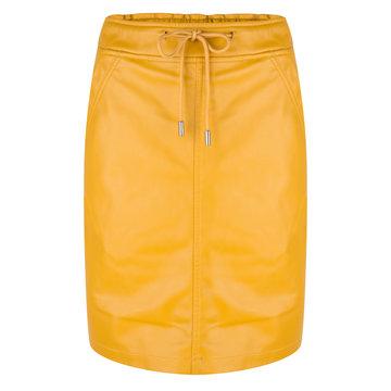 Esqualo Skirt PU elastic Oker geel