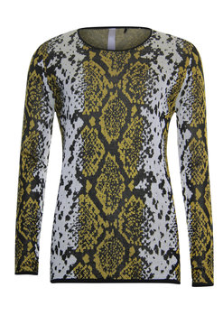 Poools Pullover snake Amber 933271