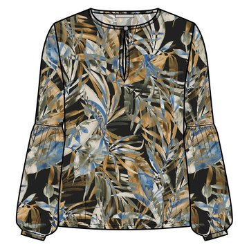 One two luxzuz Maia Blouse Olivo