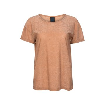 One two luxzuz Karin T-Shirt Glitter Toffee