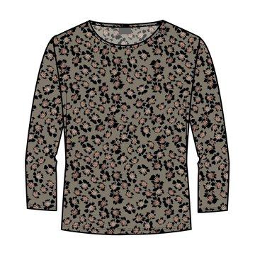 One Two Luxzuz Hansigne T-shirt Olivo