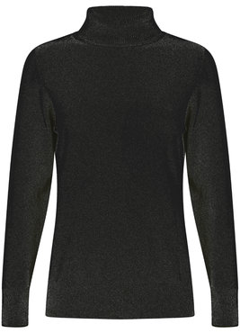 Tramontana Jumper Basic Rollneck Black