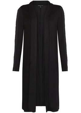 Tramontana Cardigan Long Beaded Black