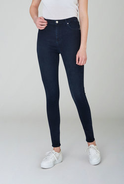 2nd One Amy 527 Blue Black Penny jeans