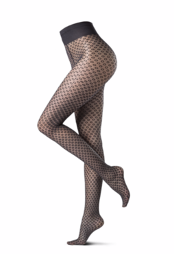 OROBLU Delicate hub tights fashion 20 denier zwart