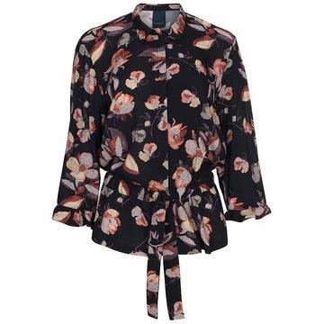 One Two Luxzuz Nezita  Shirt Zwart