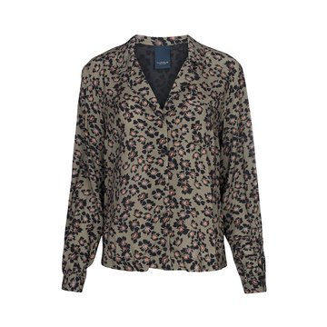 One Two Luxzuz Nettie Blouse Olivo