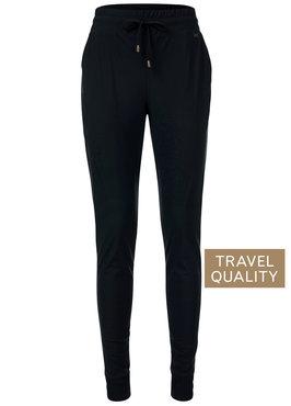 Dayz Brooke - Zwarte broek in travel stof