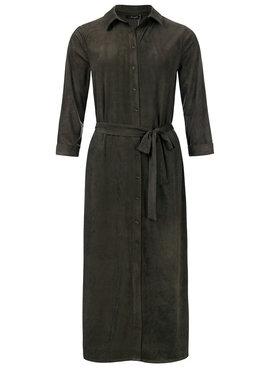 Dayz Charlaine - Lange blouse jurk Groen