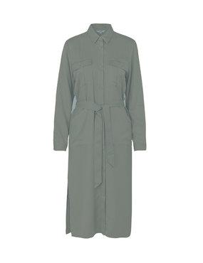 MbyM Eleena Long Sleeve Monet print Dress