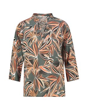 Aaiko Ancona vis 516 blouse steelgreen