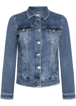 Tramontana Jeans Jacket 5-pocket Mid Blue Denim