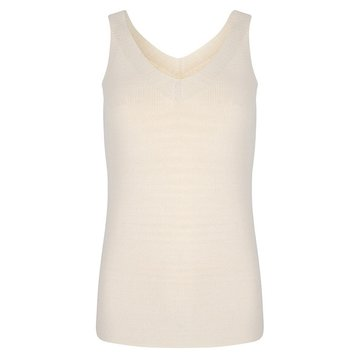 Esqualo Camisole V Fashioned top Beige