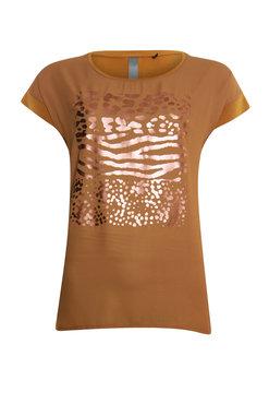 Poools t-shirt Foil Caramel  013157