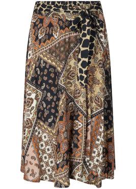 Tramontana Skirt Circle Scarf Print