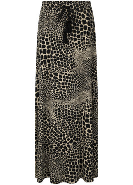 Tramontana Skirt Long Giraf Print