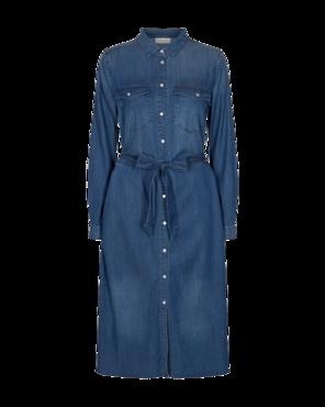 Freequent Jeansjurk Fia-l-dr Medium blue