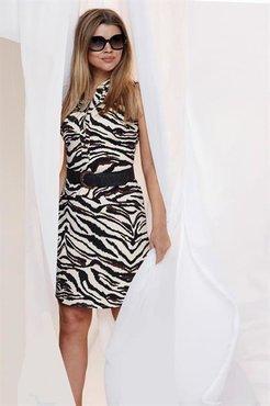 K-Design jurk mouwloos Q806