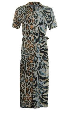 Poools Maxi dress Animal spot 013183