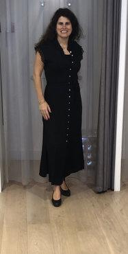 Aaiko Nika Vis 531 Dress Zwart
