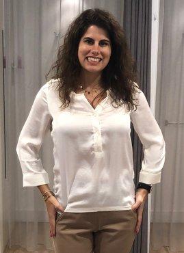 Dayz Dove - Offwhite blouse