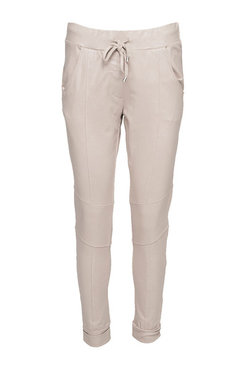 Zoso Veronica Travelo pant with zippers beige
