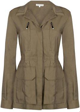 Tramontana Jacket Waist Cord  Olive