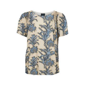 One two luxzuz Karin T-Shirt Denim Blue