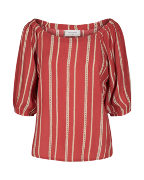 Freequent Lia-bl Blouse Brick Red