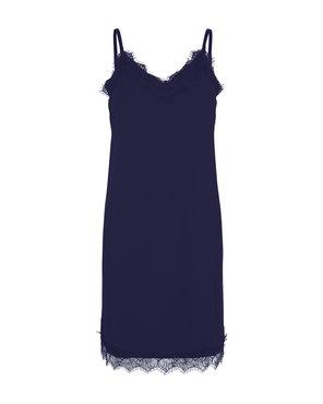 Freequent Blauwe kante jurk Bicco-st-dr