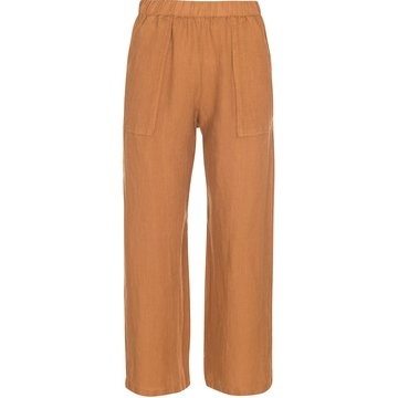 One two luxzuz Eline Pant Tobacco