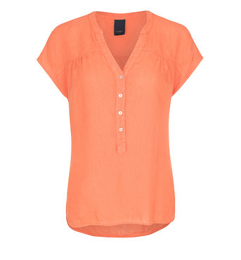 One two luxzuz Bonna Top hot coral