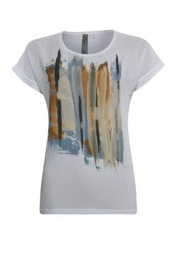 Poools t-shirt met print 023203