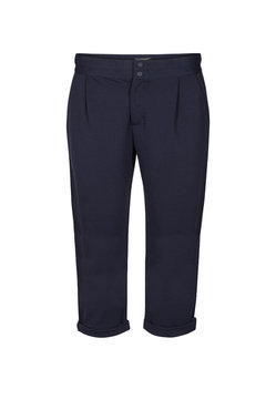 Freequent Capri broek blauw Nanni-ca-solid