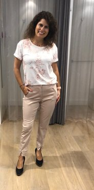 One two luxzuz Karin T-Shirt Powder Rose