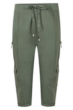 Zoso Sportster Sporty capri trouser army