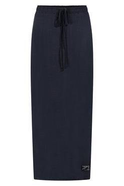 Zoso Astrid long luxury skirt navy