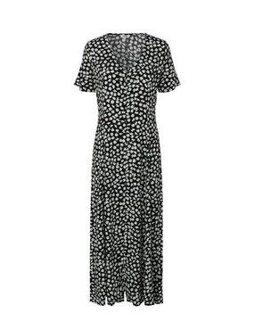 MbyM Rossie Jaci print lange jurk met korte mouwen