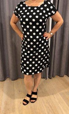 Dayz Elske - Korte bolletjes print jurk