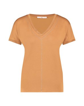 Aaiko Faith Mo 322 T-shirt Noisette